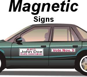 Auto Magnetic Signs
