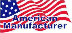 American manufacturer, products proudly madein the U.S.A