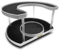 Stow n Spin lazy susan turntable cabinet storage