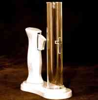 Communion bread wafer dispenser